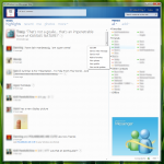 Full view in Windows Live Messenger Wave 4