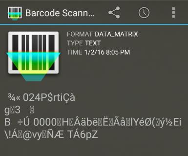 Barcode Scanner on IBI postage barcode